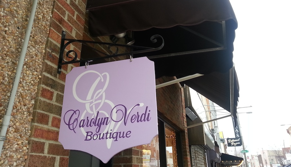 The Carolyn Verdi boutique is at 1746 East Passyunk Avenue in South Philly.