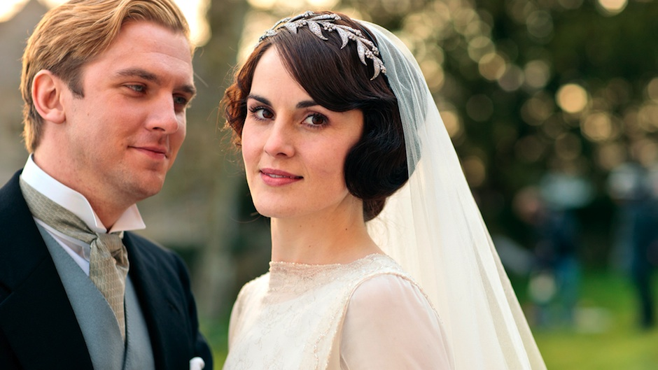 You can now wear this very headpiece on your wedding day. Photo courtesy PBS.
