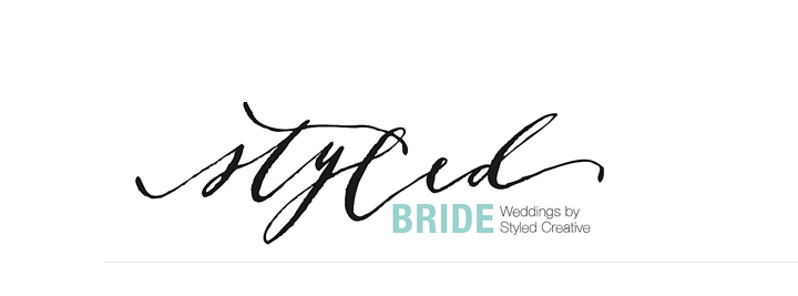 The Styled Bride, the wedding-focused arm of Styled Creative, officially launches today!