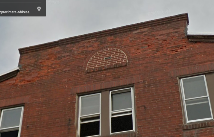 Google Street View of the building's roof.
