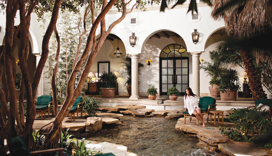 The 65,000-square-foot spa at the Cloister, Georgia