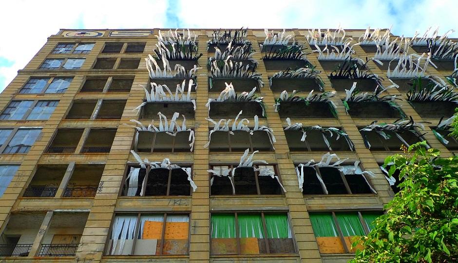 abandoned building in Philadelphia by Wolfram Burner via Flickr