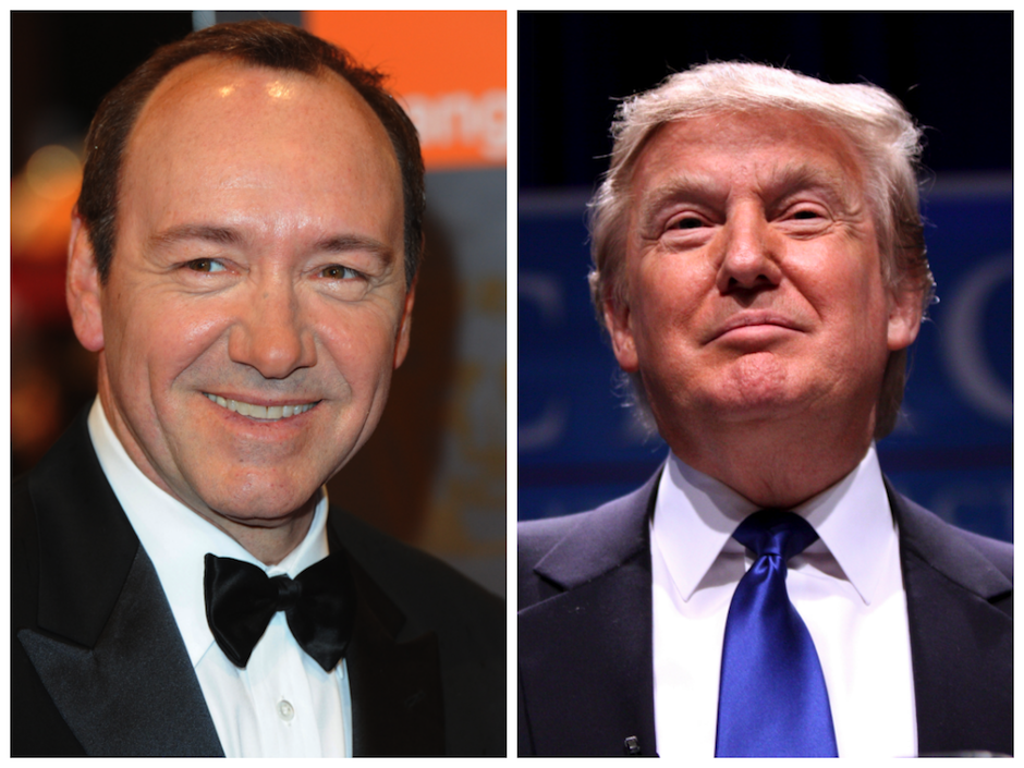 donald trump kevin spacey