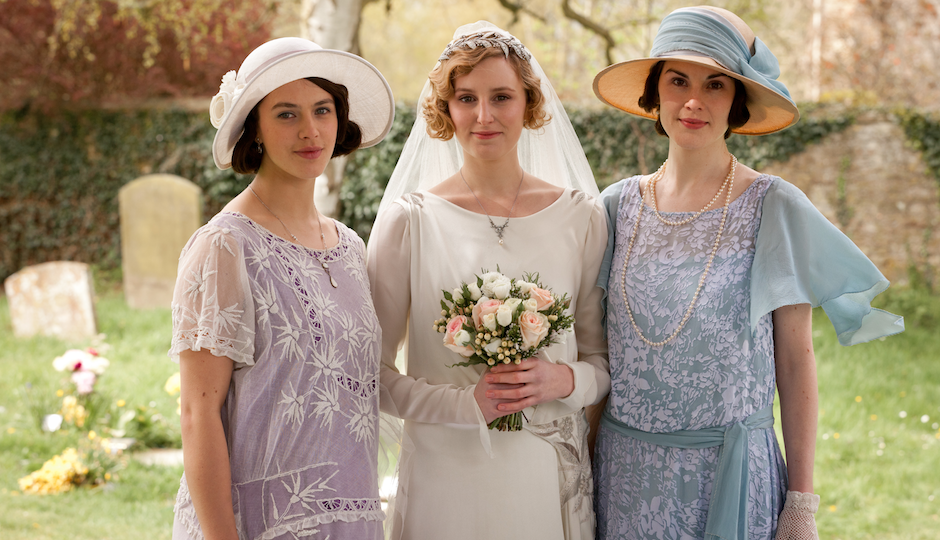 downton abbey lady sybil lady mary lady edith