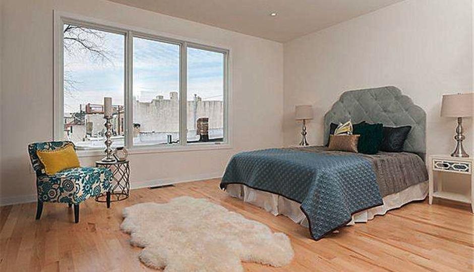 Bedroom in 804 S 19th Street.