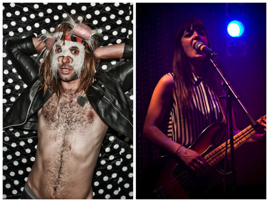 L-R Nobunny and Lantern lead singer Emily Robb. Photos courtesy of Paul Bruening and Katie Harrold, respectively.
