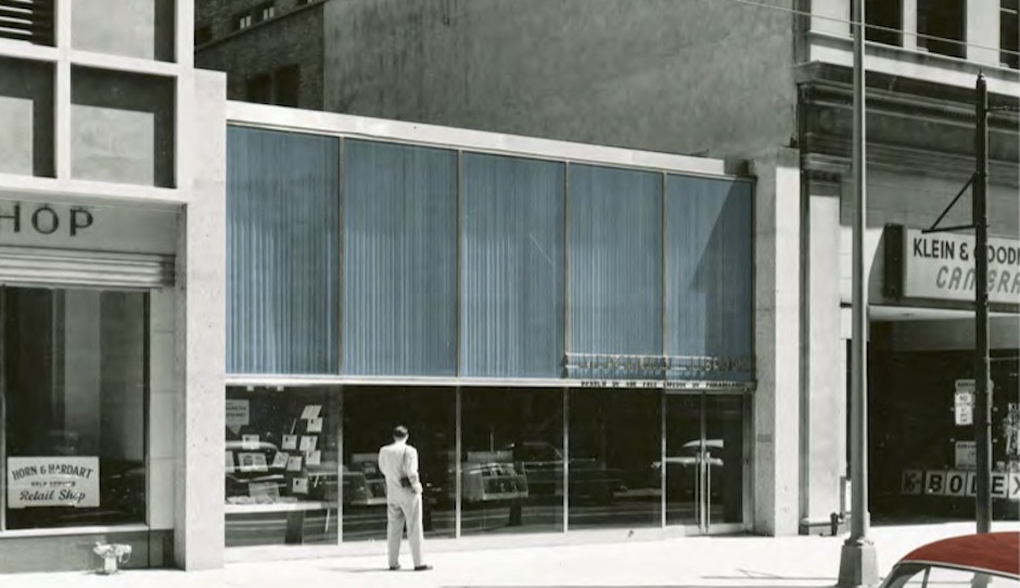 The Mercantile Library at 1021 Chestnut, as seen in 1964. Photo courtesy MSC.