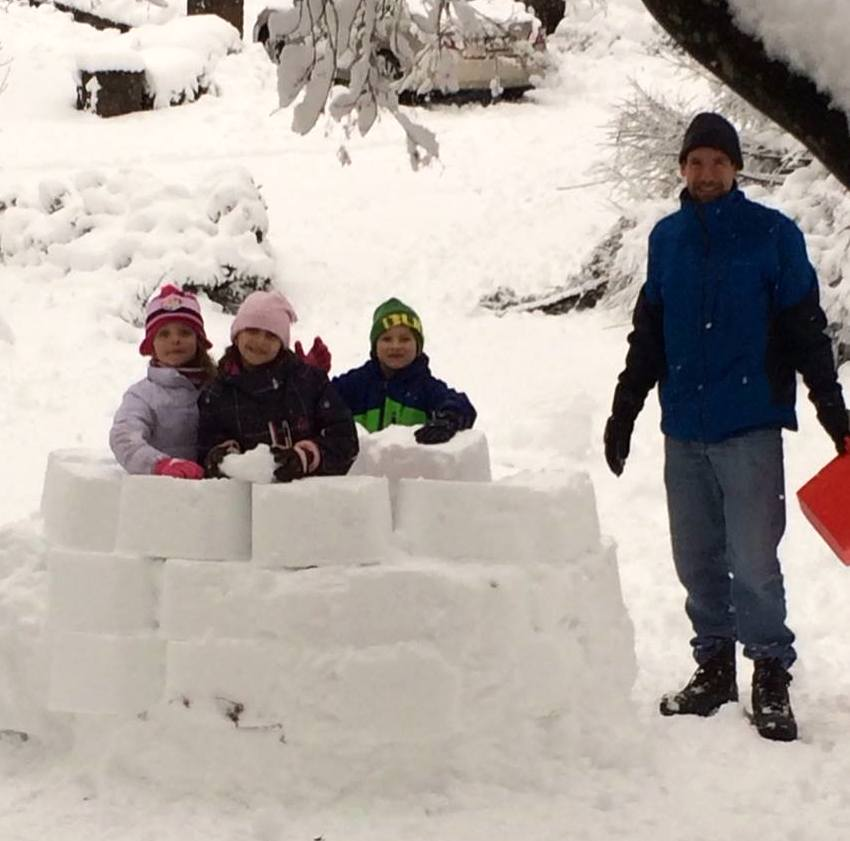 rosemont igloo in progress