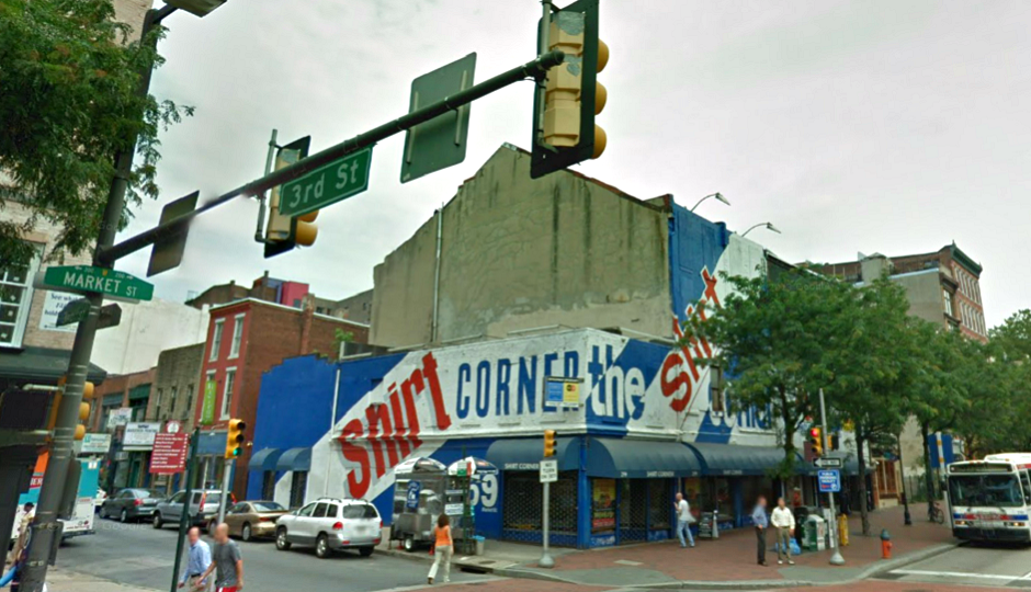 Shirt Corner via Google Street View
