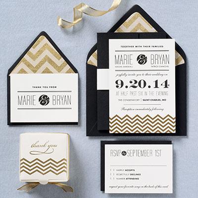 Invitation inspiration via paper-source.com.