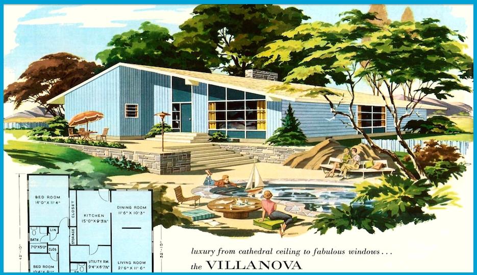 vintage villanova ad