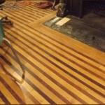 Original wood flooring. Photo: Sandy Smith.