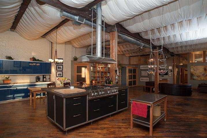 amazing live work warehouse in fishtown with drool worthy custom kitchen philadelphia magazine. Black Bedroom Furniture Sets. Home Design Ideas