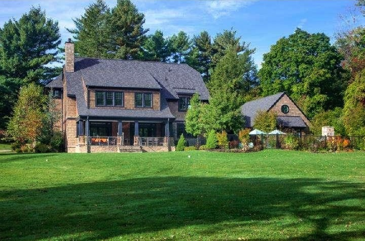 Bryn Mawr Home Includes Art Deco Style Theater And Wine