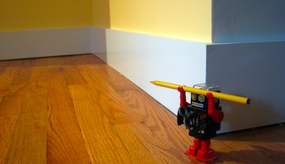 Baseboard by Logan Ingalls via Flickr