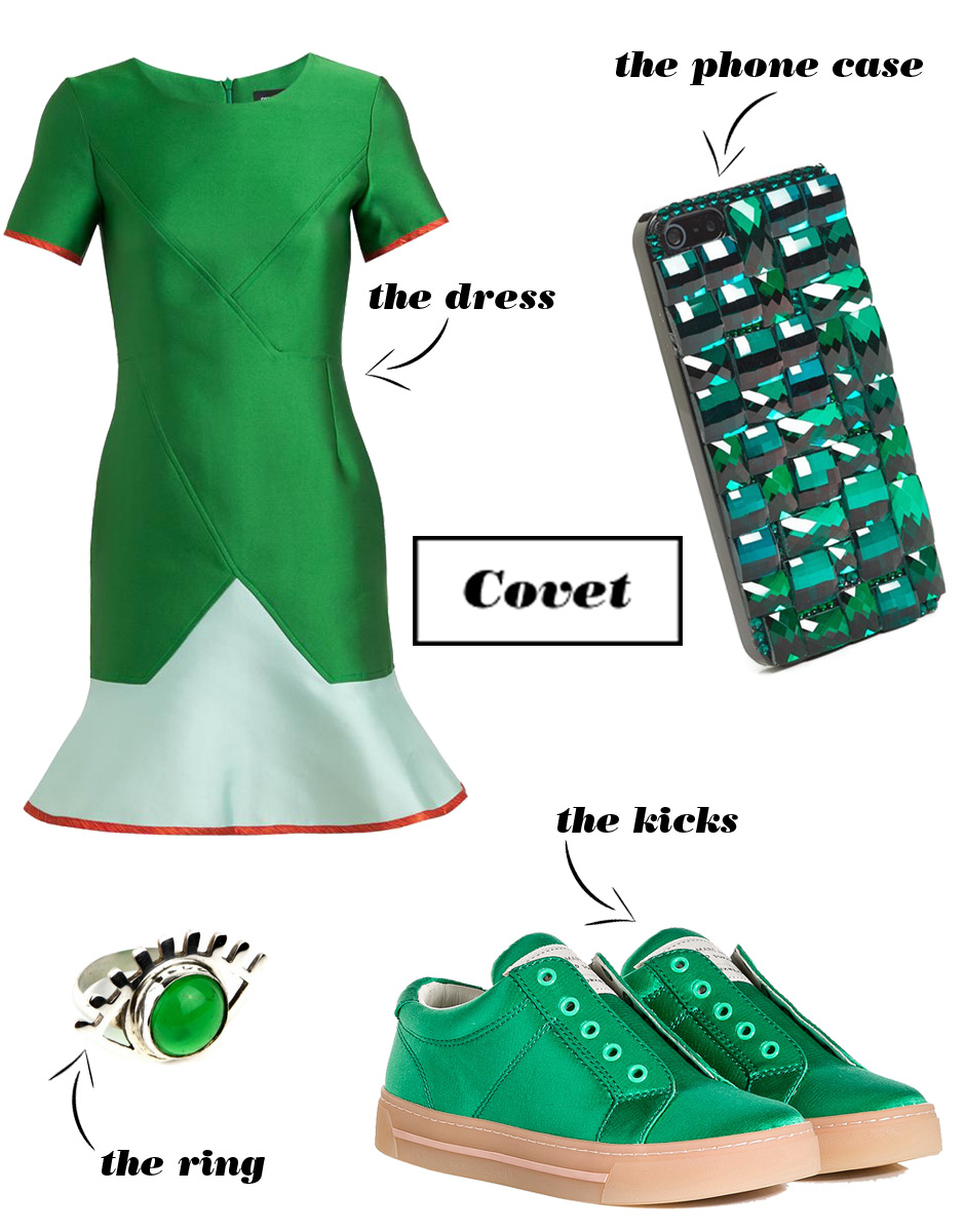 4 Ways to Wear Green That Work After St. Patty's Day