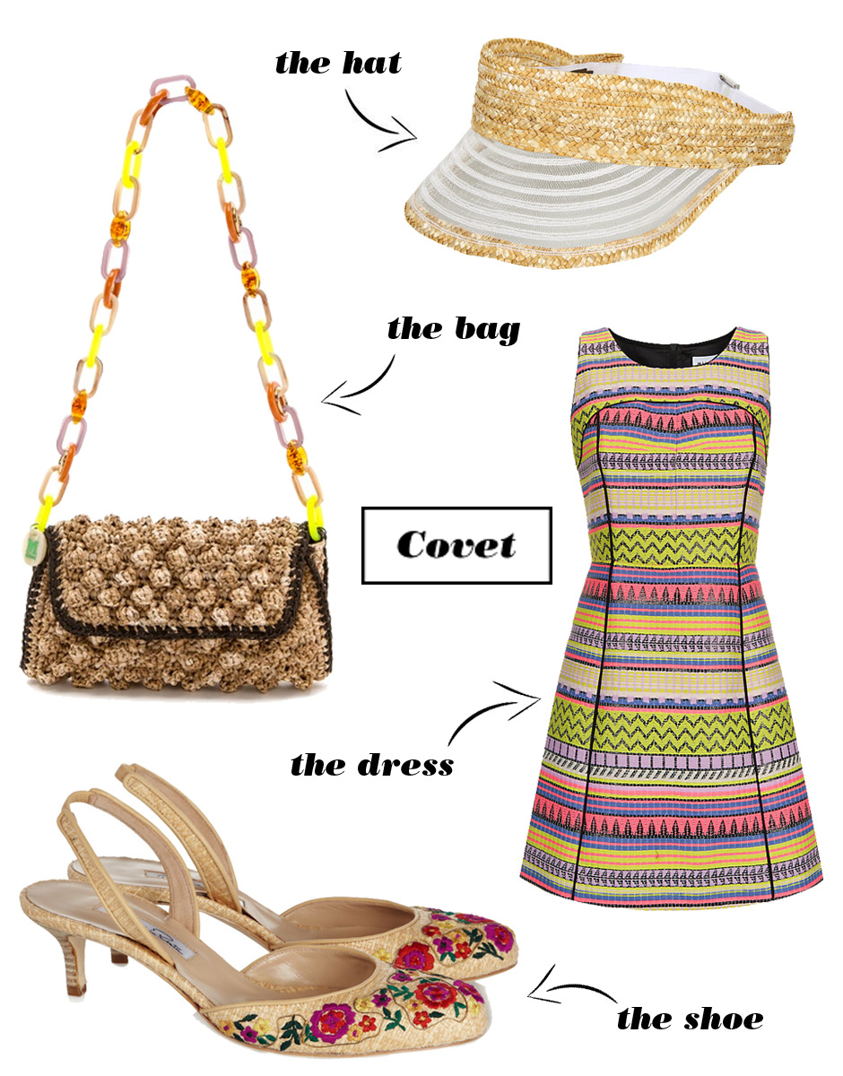 Covet: 4 Ways to Wear Raffia