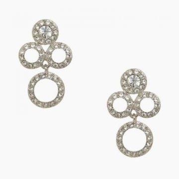 Kate Spade delicate dots earrings.
