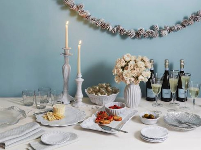A selection of so-pretty tabletop from Vietri, available at Scarlett Alley.