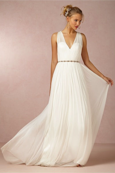 BHLDN's beautiful $800 Ruth gown.