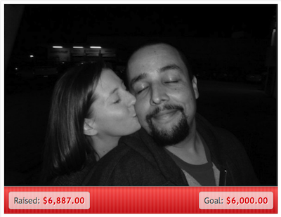 Screen grab from the GoFundMe page for Ray and Christina.