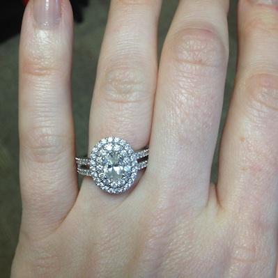 Amanda's ring!