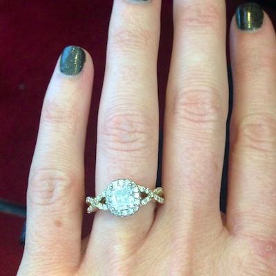 Kate's ring!
