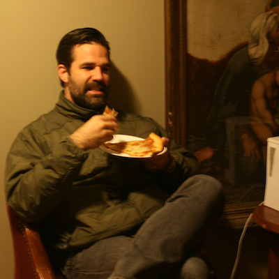 Rob Delaney side