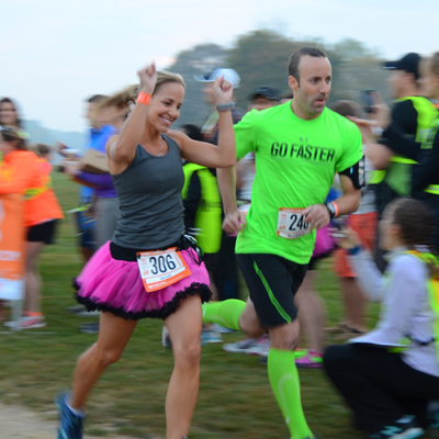 Chestnut Hill's Schuyler Nunn at the Ragnar Relay
