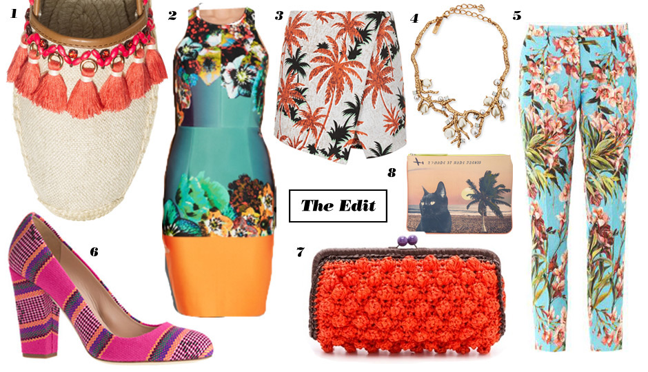 8 Tropical Fashion Buys We're Loving Now