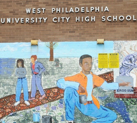 Detail from image of UCHS from GreatPhillySchools.org