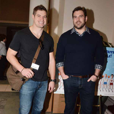 Zarwin-Baum-March-Madness-Party-08-5307-Brent-Celek-Todd-Herremans-400