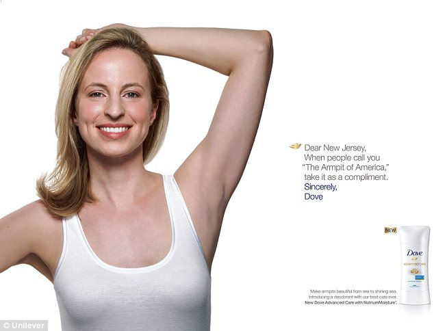 Dove Jersey Ad