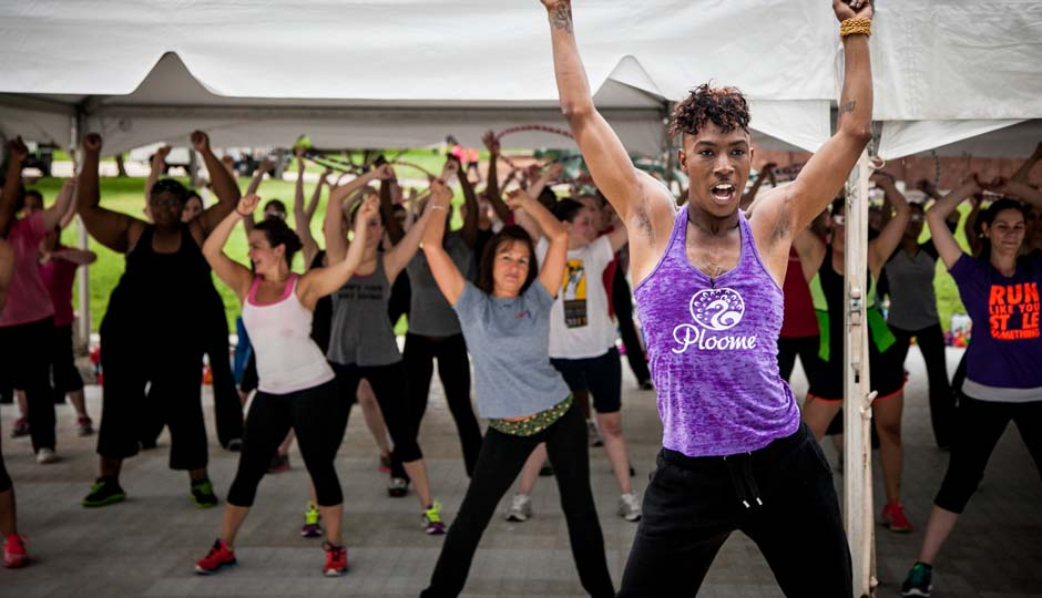 Ploome at Be Well Philly Boot Camp 2013 // Photo by JPG Photography