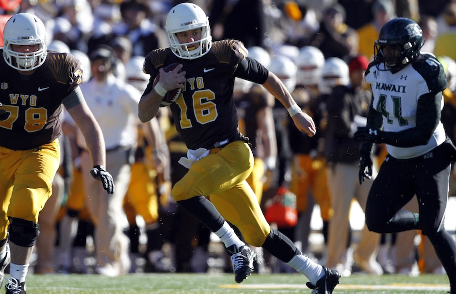 NCAA Football: Hawaii at Wyoming