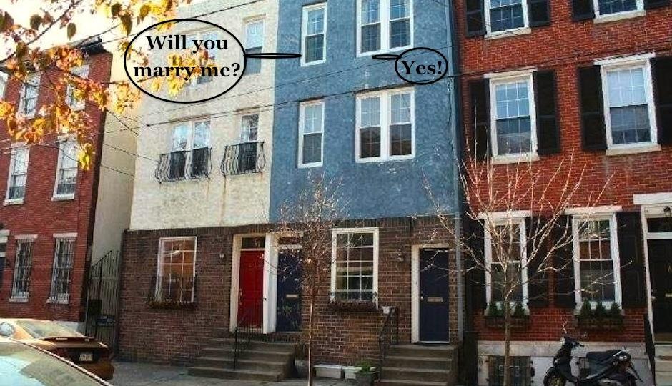 Exterior of 338 Queen Street, Philadelphia, PA.