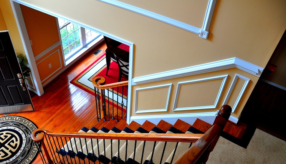 Which molding do you spot here?