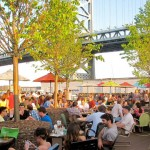 Outdoor dining at Morgan's Pier on the Delaware Riverfront  | Photo courtesy courtesy Morgan's Pier