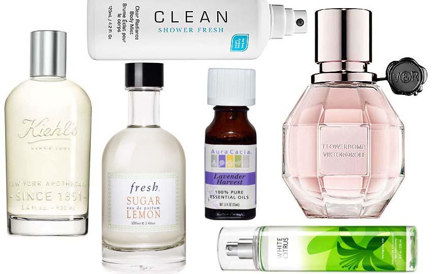 perfumes montage