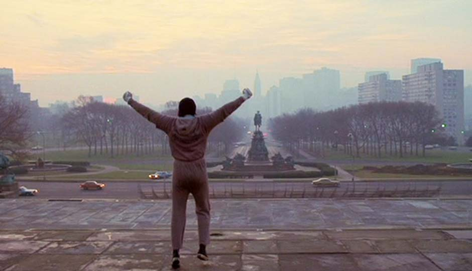 You Can't Go on the Rocky Steps for a Month