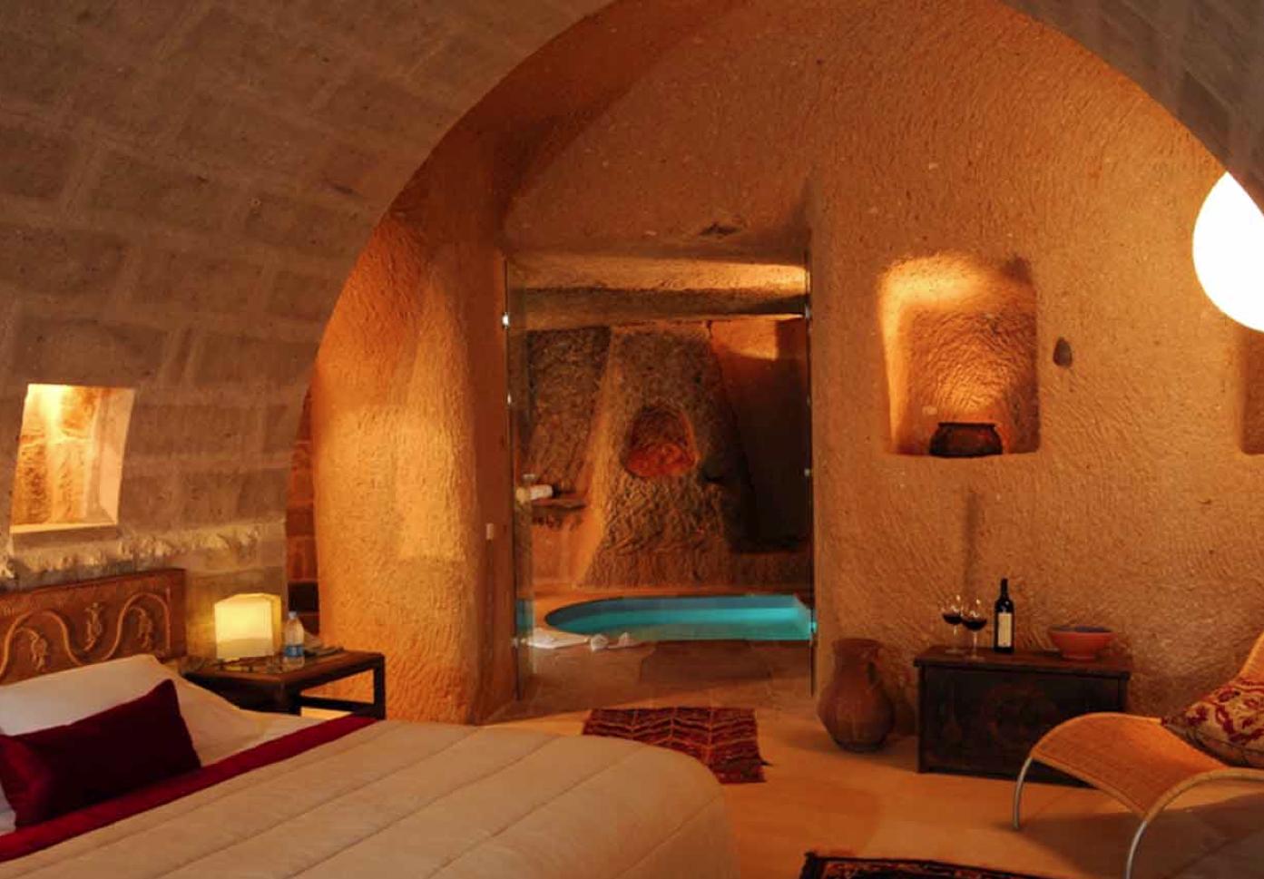 A suite at Argos in Cappadocia.