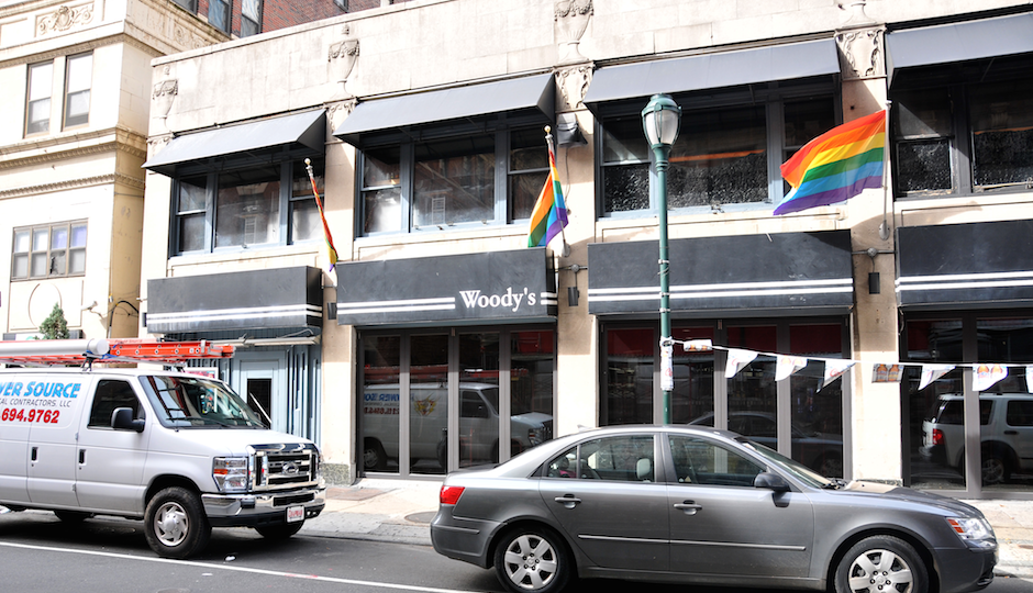 woodys gay bar gayborhood