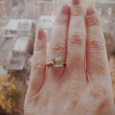 Colleen's ring!
