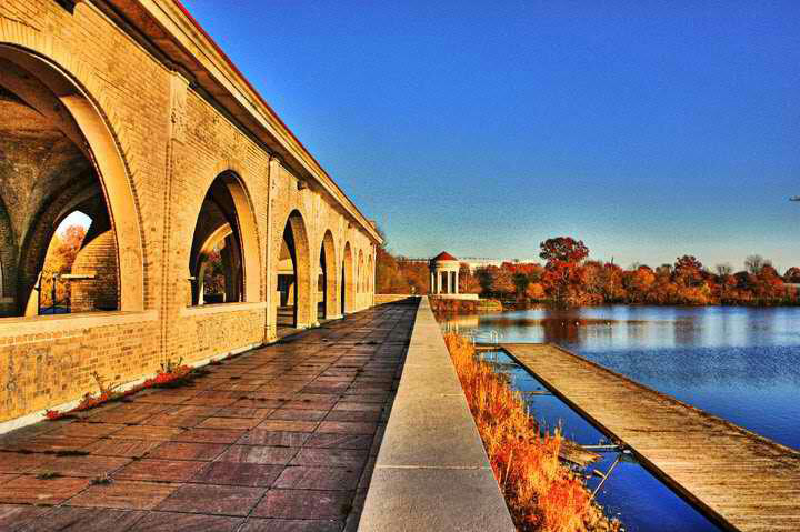 FDR Park // Photo via Philadelphia Runner/Facebook