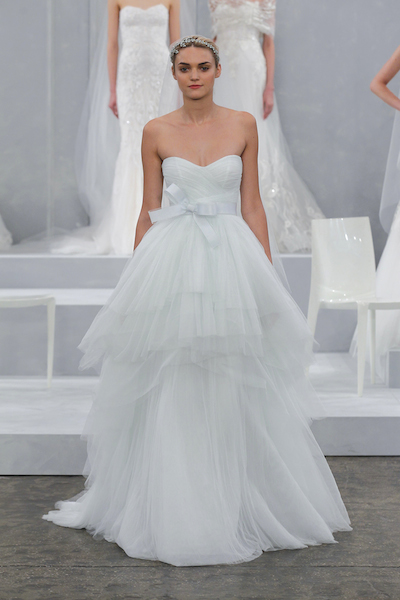 Oceana by Monique Lhuillier, probably our favorite design on her runway this season. All photos courtesy of the designer.