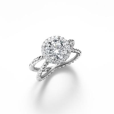 PHOTOS David Yurman Adds Beautiful New Diamond Halo Styles to
