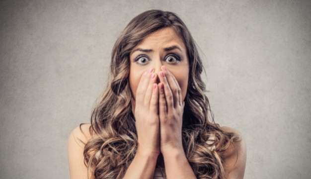 Almost the exact look on my friend's face when she realized her ring was gone. (Shutterstock)