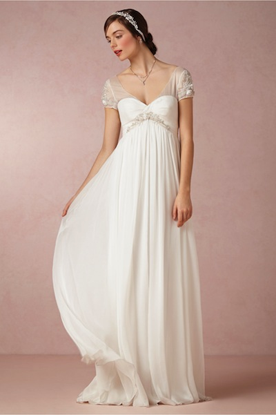 BHLDN's Elisa gown, originally $1,200, now $600.