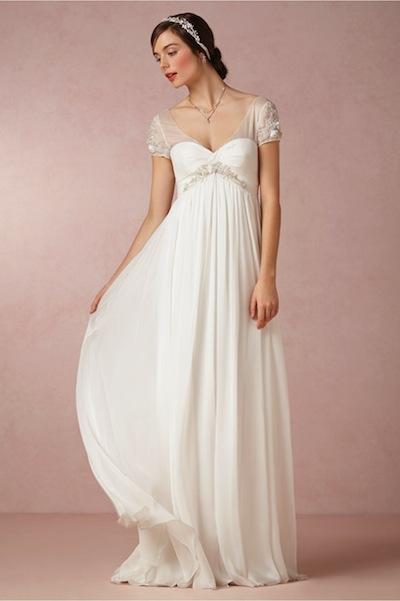 BHLDN's Elisa gown, originally $1,200, now $600.