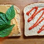 Peanut butter and sriracha